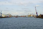 Hamburg Harbor Panorama