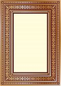 Luxury vintage ornate frame for your art design