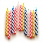 Bright Birthday Candles