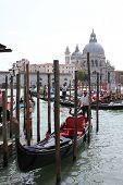 Venice Gondolier Floating