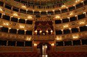 Interior of La Fenice Theatre