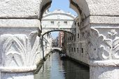 The Bridge Of Sighs, Venice, Architectural detail
