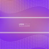 Modern abstract background with a dynamic pattern.