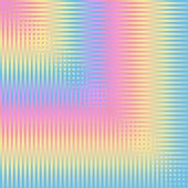 An abstract line and square pattern in pastel colors
