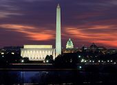 Washington DC na madrugada