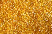 Yellow Splintered Corn Background