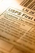 Post Envelope Label