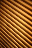 pic of jalousie  - Closed brown metal jalousie background in closeup - JPG