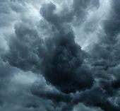 Stormy Grey Cloudy Sky