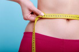 pic of measurement  - Time for diet slimming weight loss - JPG