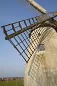 stock photo of windmills  - The windmill Hille  - JPG
