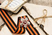 picture of victory  - Order of the Patriotic War of the second degree George Ribbon old photos for the great day of Victory - JPG