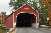 picture of covered bridge  - Cresson Sawyer - JPG