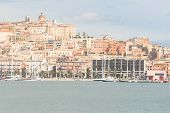 stock photo of palace  - Cagliari Seafront and Port - JPG