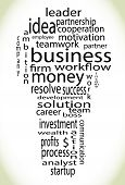 image of lightbulb  - Wordcloud business lightbulb - JPG