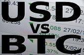 pic of bitcoin  - US dollar versus Bitcoin  - JPG
