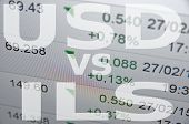 stock photo of shekel  - US dollar versus Israeli new shekel  - JPG