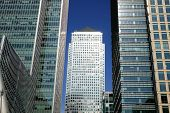 stock photo of hsbc  - Canary Wharf in Docklands is the largest business development in East London - JPG