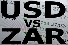 picture of zar  - US dollar versus South African rand  - JPG