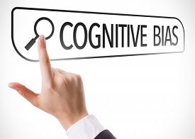 stock photo of cognitive  - Cognitive Bias written in search bar on virtual screen - JPG