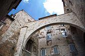 Perugia Architecture poster
