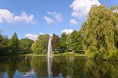 Fountain In Essen