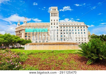 Catalonia Square Or Placa De