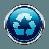 Chrome Recycle Button