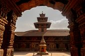 Kathmandu Is The Capital City And Largest City Of Nepal.kathmandus Durbar Square Is The Generic Nam poster