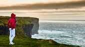 The Kilkee Cliff Walk Is A Scenic 2 To 3 Hour (8km) Moderate Loop Walk Along The Kilkee Cliffs Start poster