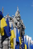 European chimera of Ukraine.Famous chimera house. In present time is a guest house of ukrainian pres