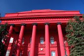 Main historical building of National University of Kiev. Ukraine's premier university Kiev,Ukraine