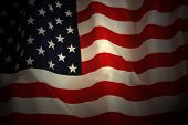 pic of american flags  - American Flag background - JPG