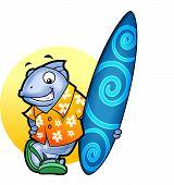 Surfer Fish