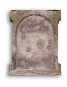 Old Blank Gravestone