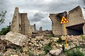 Lost city.Near Chernobyl area.Kiev region,Ukraine
