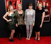 NEW YORK-NOV 18:  Scarlett Johansson, Helen Mirren, Jessica Biel and Toni Collette attend the premie