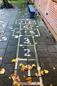 Hopscotch On The Schoolyard