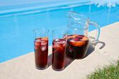 Sangria By The Pool