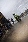 CHESTE - NOVEMBER 13: Valentino Rossi during first test of MotoGP for 2013, on November 13, 2012, in