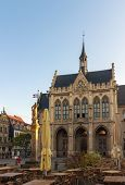 Town Hall Of Erfurt, Germany