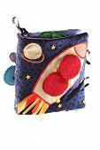 Soft Logical Handmade Book For Children Space Rocket