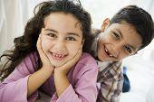Midden-Oosten kinderen thuis