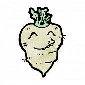 cartoon turnip
