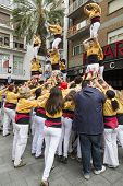 Castellers, Several Towers Of One