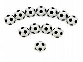 Rss Symbol Of Soccer Balls
