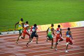 Olympics Mens 100-meter Sprint