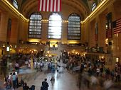 pic of amtrak  - Hush Hour at Grand Central Terminal in New York City - JPG