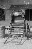 Rickshaw in Monochrome
