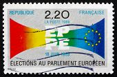 Postage Stamp France 1989 European Parliament Elections